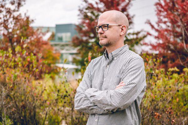Scott Gerber, PhD. Photo by Kurt Wehde