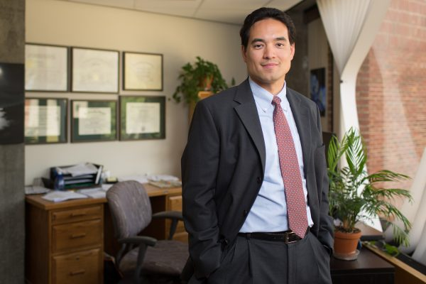 Dr. Benjamin Chan photographed in Concord, NH. Photo by Rob Strong